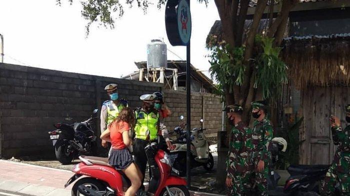 WNA Yang Melanggar Prokes di Badung Bali Mau Bayar Denda Ketika Hendak di Lakukan Rapid Test