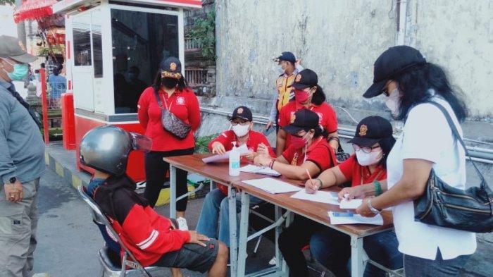 Operasi Yustisi Covid-19 di Denpasar Utara, Satpol PP Kumpulkan Denda Satu Juta Rupiah