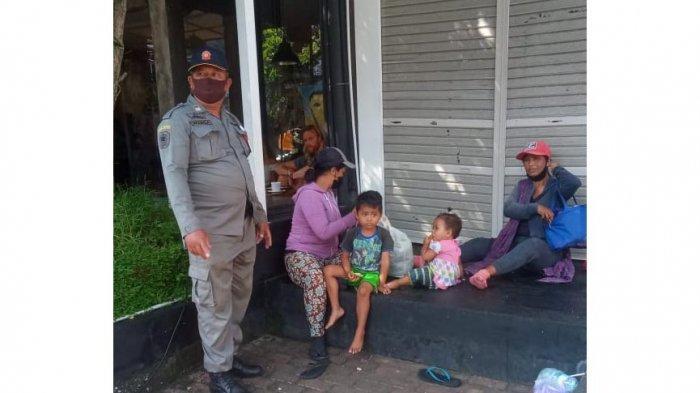 Antisipasi Klaster Pengemis, Satpol PP Gianyar Jaring 24 Pengemis di Ubud Bali