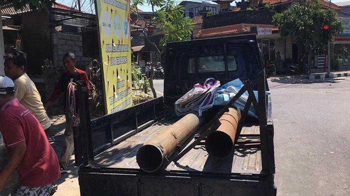 Satpol PP Badung Tertibkan 177 Reklame Tak Sesuai Masterplan, Target Selesai Akhir Tahun
