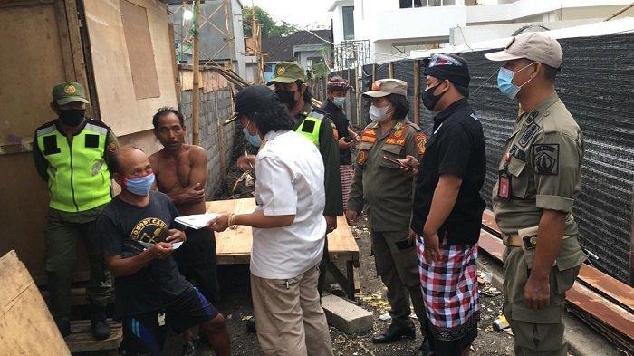 Selama Seminggu, Satpol PP Badung Temukan 42 Duktang yang Tidak Lapor ke Kaling