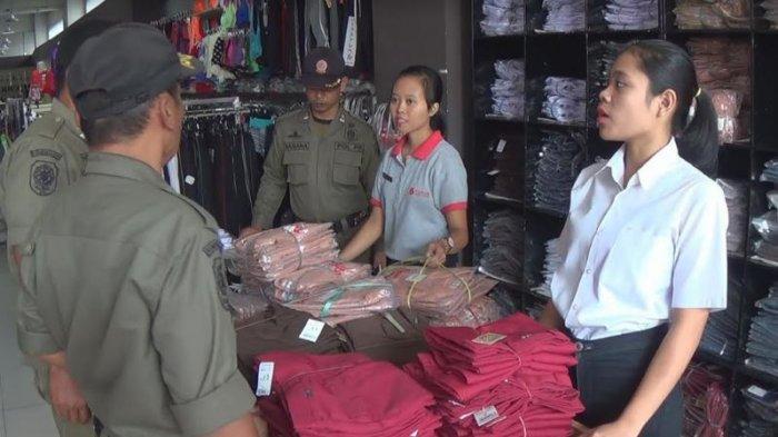 Banyak Karyawan Belum Berbusana Bali, Satpol PP Jembrana Beri Peringatan 10 Hari ke Depan