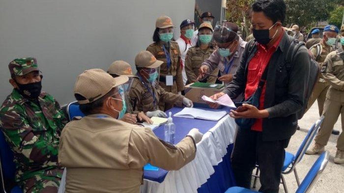 Tim Gabungan di Karangasem Bali Amankan 9.023 Pelanggar Prokes