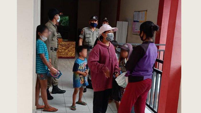 Didominasi Anak-Anak, Satpol PP Klungkung Tertibkan Gepeng Berkedok Pedagang Asongan