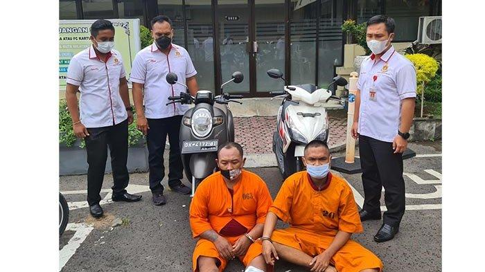 Kunci Motor Masih Tercantol, Hendak Bawa Kabur ke Jawa, Dua Pelaku Diringkus di Gilimanuk