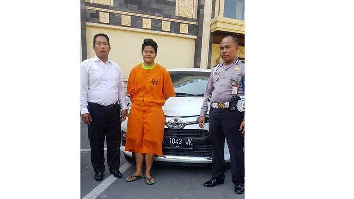 Modus Menyewa Mobil, Wanita Asal Suwug Diringkus Satreskrim Polresta Denpasar