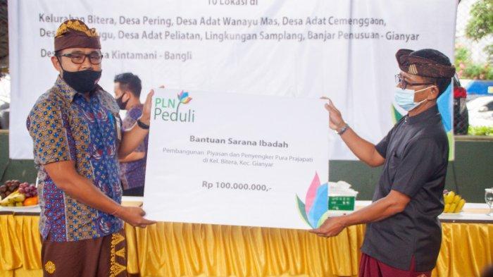 CSR PLN Bantu Pembangunan Masyarakat Bali