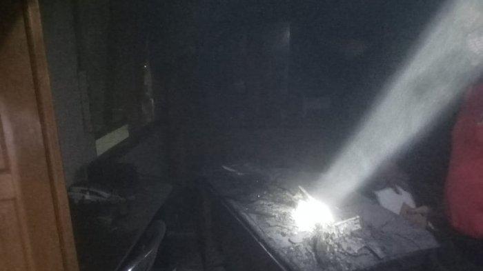 Satpol PP Melihat Asap dan Api, Komputer Hangus Terbakar di Kantor DPRD Klungkung