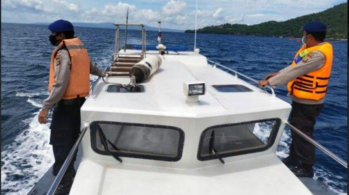 Ciptakan Kamtibmas di Wilayah Pesisir, Pol Air Polres Karangasem Galakkan Patroli Laut