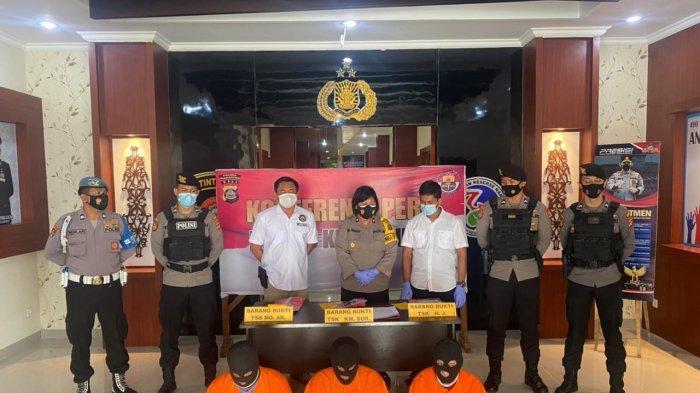 Satnarkoba Polres Klungkung Bali Amankan 3 Tersangka Narkoba, Satu Tersangka Sebagai Penghubung