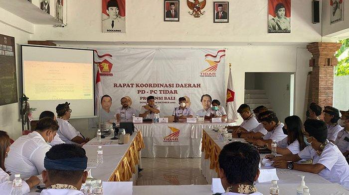 Gelar Rakorda Jelang Musda, TIDAR se-Bali Tegaskan Siap Sukseskan Gerindra di Pemilu Serentak 2024