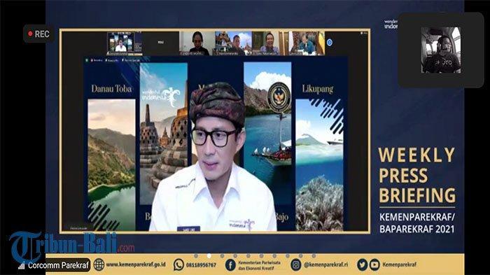 Kemenparekraf Terus Finalisasikan Program Travel Corridor Arrangement (TCA) Bali