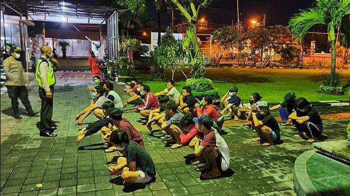 Terjaring Patroli Gabungan, Polresta Denpasar Ungkap Alasan Ini Disampaikan Para Pelanggar ke Polisi