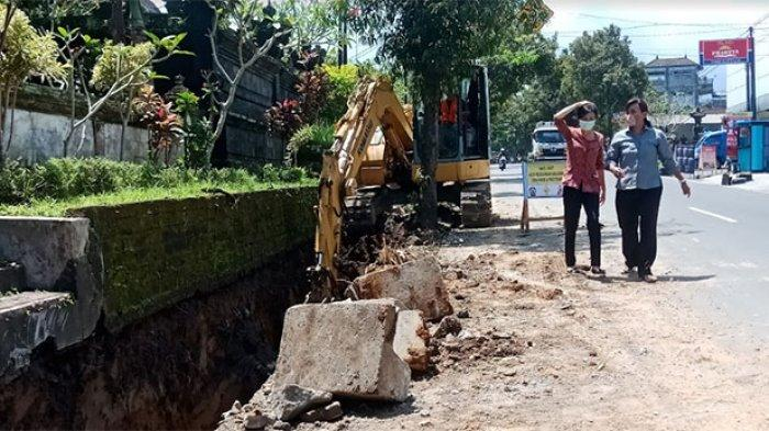 Mandek Dua Tahun, Proyek Revitalisasi Drainase di Bangli Akhirnya Dilanjutkan