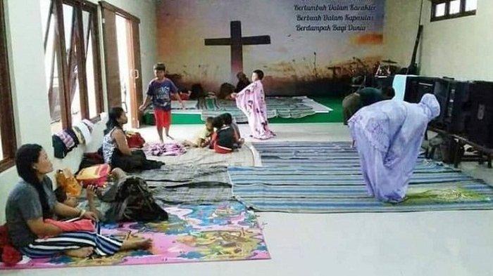 Viral Foto Toleransi Antar Umat Beragama di Kudus yang Tengah Dilanda Bencana, Ini Kisahnya