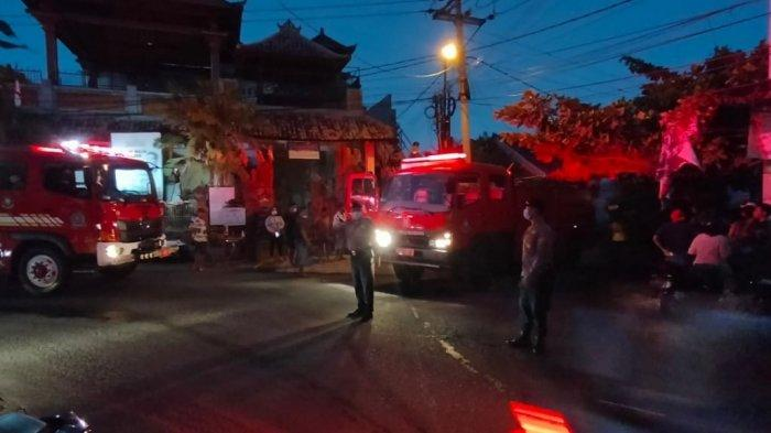 Kebakaran di Jalan Soka Denpasar, Kerugian Diperkirakan Mencapai Rp 15 Juta