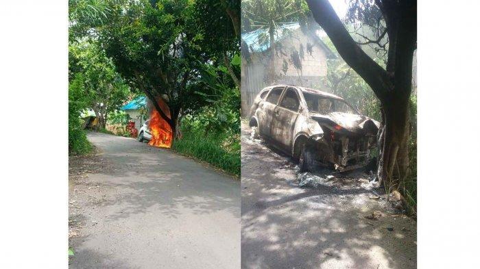Kronologi Mobil Toyota Rush Terbakar di Nusa Penida Bali, Sopir Panik Lalu Tabrak Pohon
