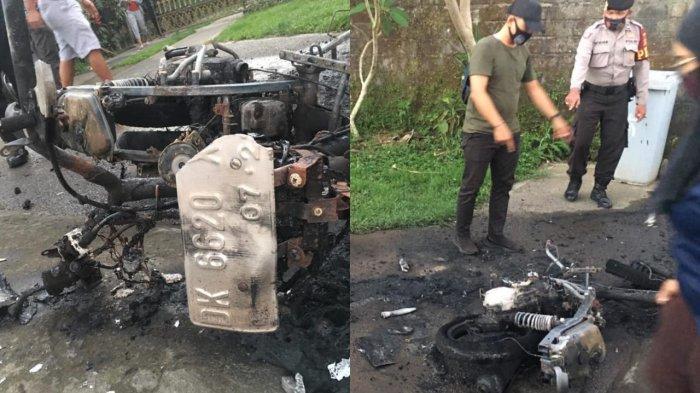 Motor Milik Lupi Terbakar Saat Dipanaskan, Diduga Karena Hal Ini