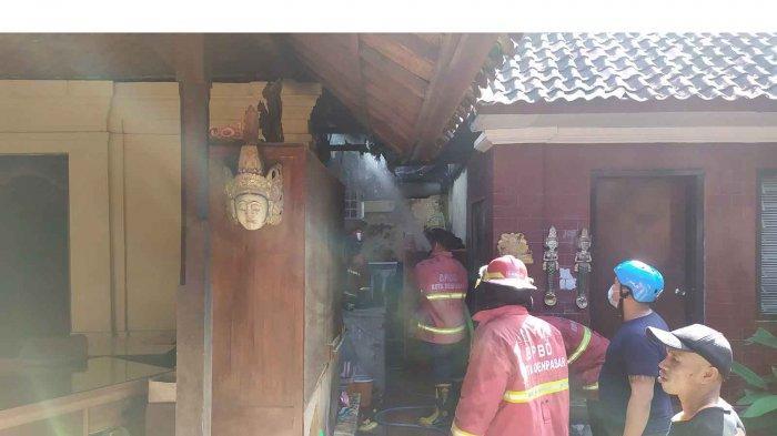 UPDATE - Kaget Mendengar Kabar Rumah Terbakar, Ngurah Oka Tancap Gas dari Gianyar ke Denpasar