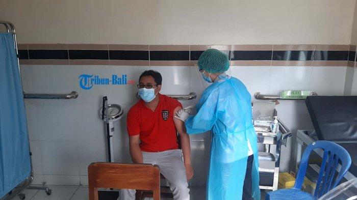 Pada Vaksinasi Gelombang Kedua, Klungkung Bali Alokasikan 2300 Dosis Vaksin Covid-19