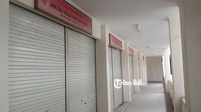 Mengaku Tak Balik Modal, Pedagang di Pasar Loka Crana Bangli Pilih Tutup Kios