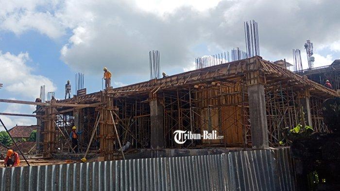 Butuh Rp 12 Miliar Lanjutkan Proyek Gedung DPRD Bangli