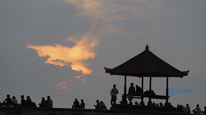 Kisah Turis Asal Jakarta Menanti Sunrise Hari Pertama Tahun 2020 di Pantai Sanur Berujung Kecewa