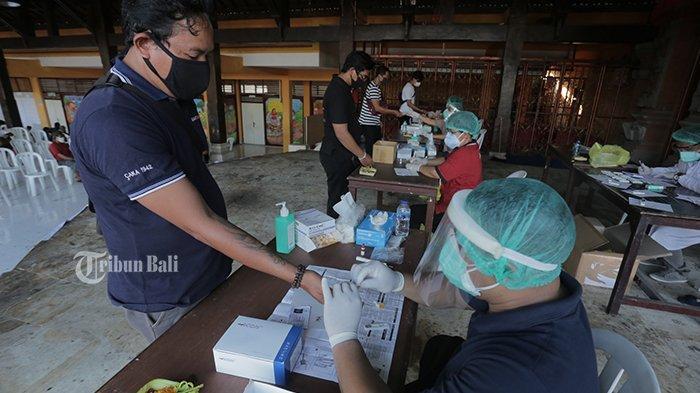 Jelang Pilkada 2020, KPU Bali Gelar Rapid Test untuk Anggota Penyelenggara Adhoc
