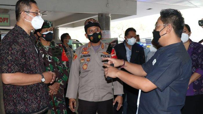 Perketat PPKM Darurat, Pusat Perbelanjaan di Denpasar yang Tidak Mentaati Aturan Ditindak Tegas