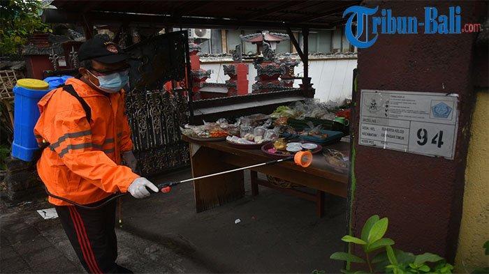Sebagai Upaya Pencegahan Covid-19, Kegiatan Jaga Rurung Digelar di Desa Sumerta Kelod Denpasar