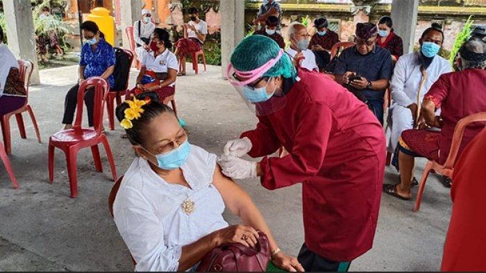 25 Sulinggih di Bangli Disuntik Vaksin Covid-19, Besok Vaksinasi Sasar Pemuka Agama Islam & Kristen