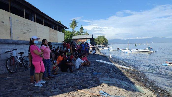 Warga Pemaron Hilang Saat Menyelam di Pantai Penimbangan Buleleng
