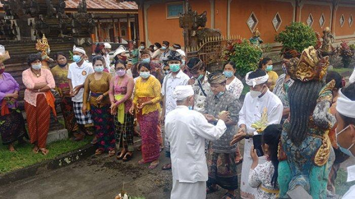 Tradisi Pesamsaman Desa Adat Kubu Bangli Saat Sugihan Jawa, Upacara Penyucian Bagi Warga Usai Cerai