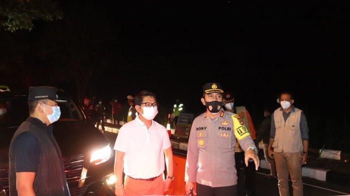 Pemantauan PPKM Darurat di Badung, Sekda Ajak Masyarakat Patuhi Aturan Pemerintah dan Jalani Prokes