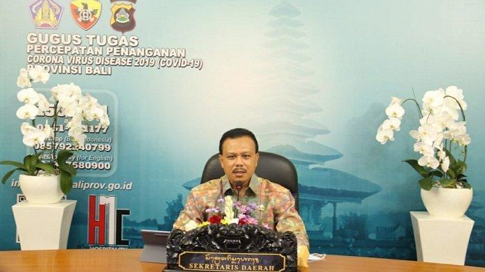 Minus Ekonomi Bali Lebih Tinggi dari Nasional,Sekda Bali Dorong Akselerasi Pencairan Dana Hibah