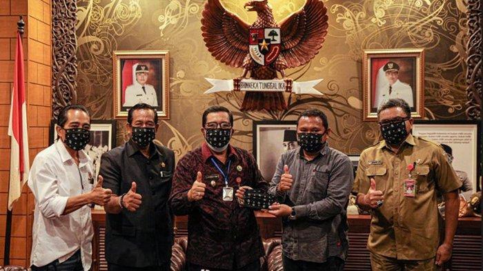 Dua Pimpinan Bali United Ambil Lisensi D PSSI di Denpasar