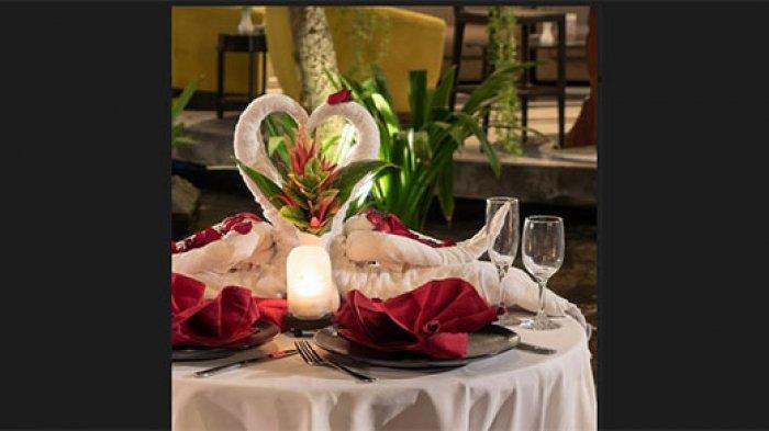 Dengan Rp 150.000, Swiss-Belhotel Rainforest Kuta Ajak Tamu untuk Menikmati Romantic Dinner Spesial