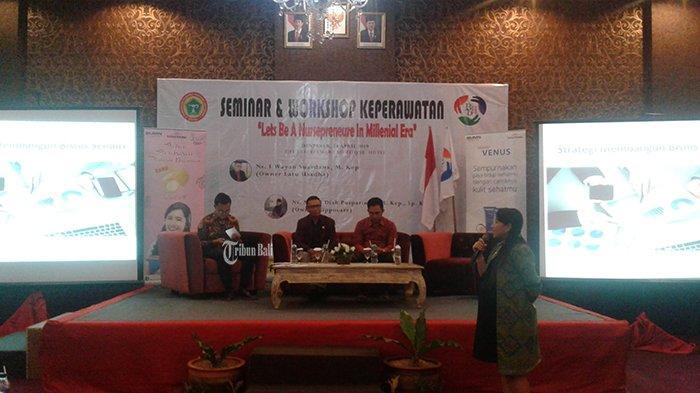 Babali Health Gelar Seminar dan Workshop Keperawatan, Ajarkan Perawat untuk Berbisnis