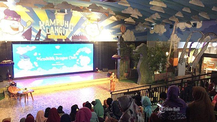 80 Guru Ikuti Seminar Mendidik dengan Cinta di Kampung Langit The Keranjang Bali
