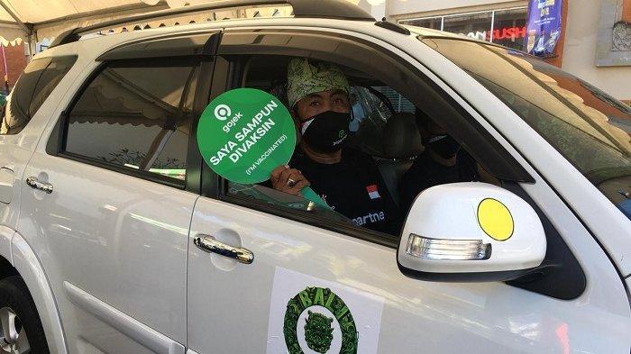 Dukung Percepatan Vaksinasi Covid-19 Pemerintah, Ratusan Mitra Driver Gojek Bali Divaksin