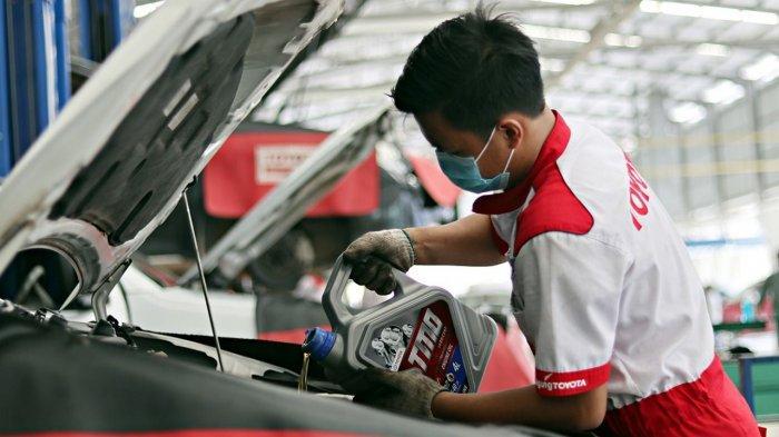 Booking Service Melalui Website dan Aplikasi Agung Toyota, Pelanggan Dapat 1 Liter Oli Gratis