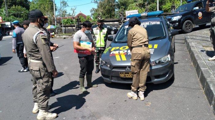 Tim Yustisi Masih Temukan Pelanggar Prokes, Positif Covid-19 di Bangli Bertambah 10 Kasus