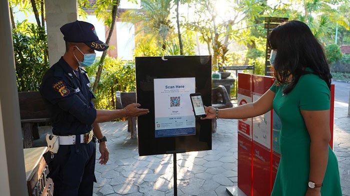 Wujudkan Destinasi Wisata Bebas Covid-19, ITDC Manfaatkan Aplikasi PeduliLindungi di The Nusa Dua
