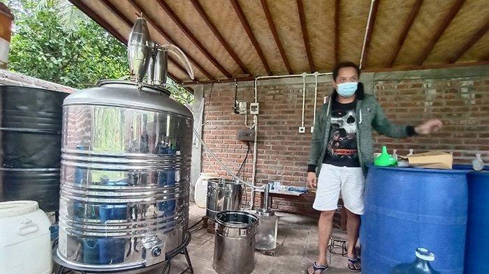 Ratusan Liter Tuak di Belimbing Tabanan Diserap per Hari, Dijadikan Bahan Baku Memproduksi Arak Bali