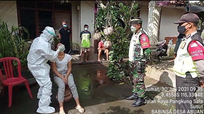 TNI di Bali Mulai Jalankan Tracing dan Swab Kontak Erat Langsung ke Rumah-rumah