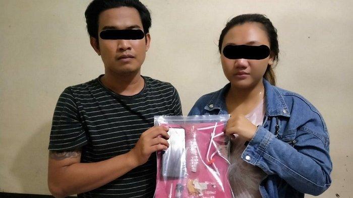Mantan Pekerja Migran dan Kekasihnya Ditangkap karena Kedapatan Membawa Narkoba