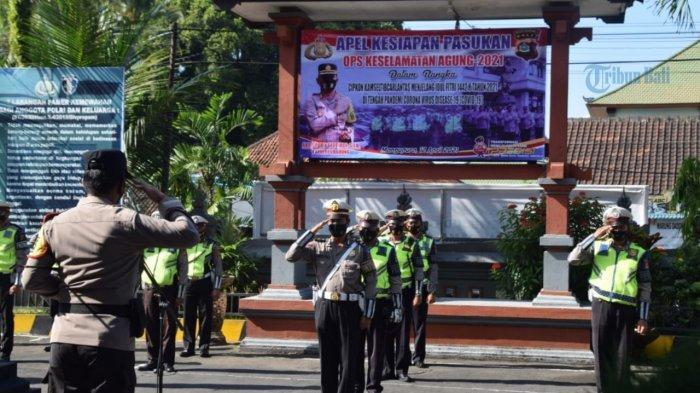 Polres Badung Minta Personil Lalulintas Petakan Wilayah Rawan Kecelakaan Saat Ops Keselamatan Agung