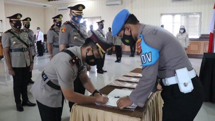 Serah Terima Jabatan Baru di Polresta Denpasar, Kombes Pol Jansen: Harus Lebih Ditingkatkan Lagi