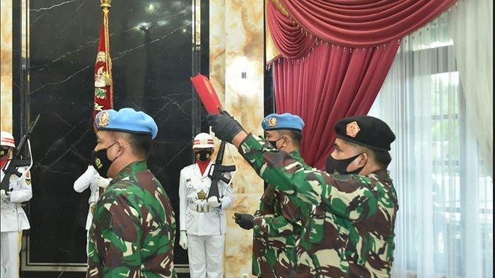 Sertijab Komandan Paspampres Dipimpin Panglima TNI, Mayjen Maruli Kini Jabat Pangdam IX/Udayana