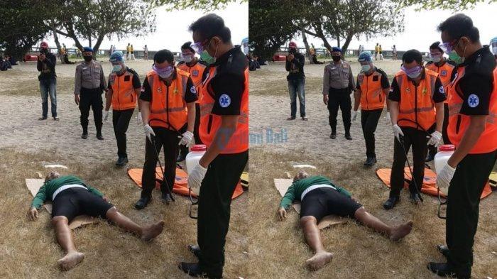 Pria yang Ditemukan Tewas di Kawasan Pantai Bali Beach Sempat Menerima Telepon